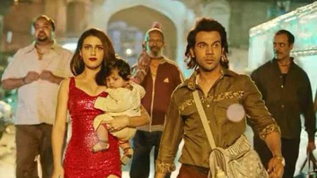 Ludo first look: Fatima Sana Shaikh and Rajkummar Rao's first look from the film.