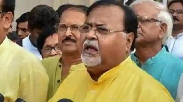 Bengal education minister Partha Chatterjee.(PTI file)