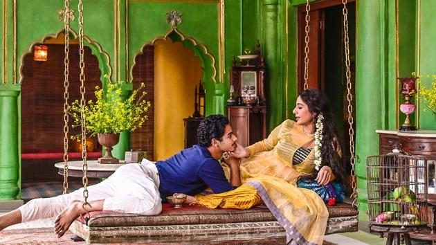 Ishaan Khatter and Tabu in a still from A Suitable Boy.