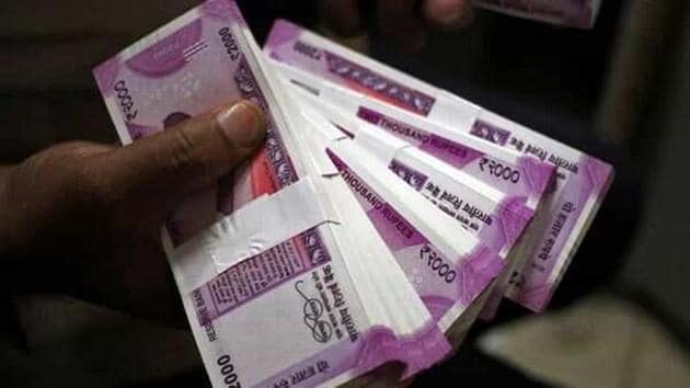 Stach of currency notes seen in this representative image.(File phopto)