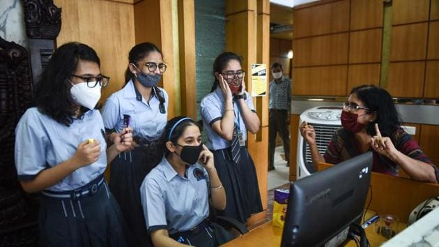 MSBSHSE Board 12th results today, where to check scores(Sanchit Khanna/HT PHOTO)