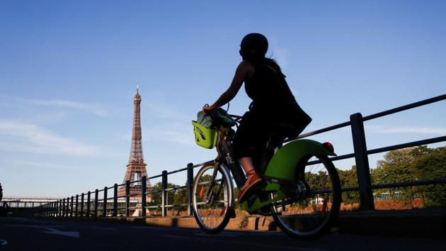 The '15-minute city' plan talks about developing the infrastructure in such a way that all the residents of a city are able to meet most of their needs within a short walk or bicycle ride from their homes.(Reuters File Photo)
