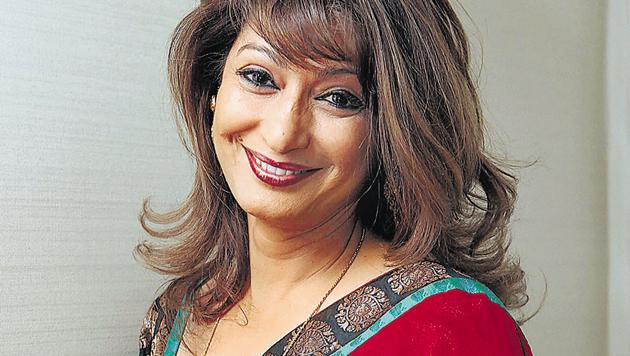 File photo of Sunanda Pushkar, who was found dead in a hotel room in New Delhi.(PTI File Photo)