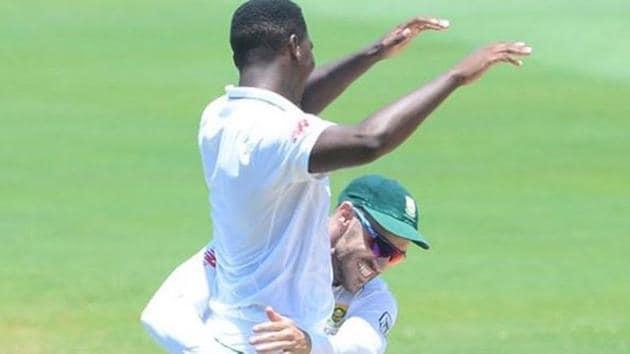 Faf Du Plessis with Lungi Ngidi.(Instagram/Faf Du Plessis)