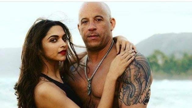 Deepika Padukone and Vin Diesel in a still from xXx.