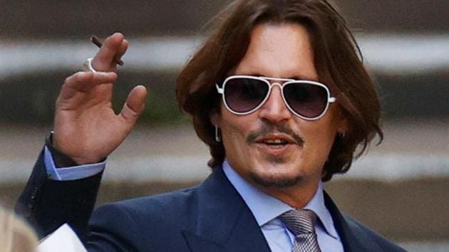 Actor Johnny Depp leaves the High Court in London, Britain.(REUTERS)