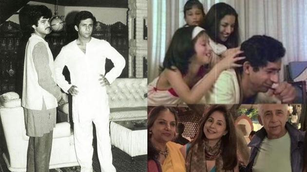 Anil Kapoor and Urmila Matondkar have shared throwback pictures with Naseeruddin Shah on his birthday.