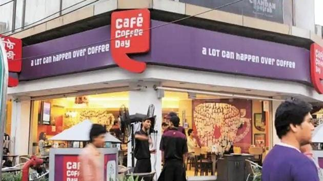 Cafe Coffee Day is a brand owned by Coffee Day Global, a step-down company of Coffee Day Enterprises Ltd (CDEL).(HT Photo)