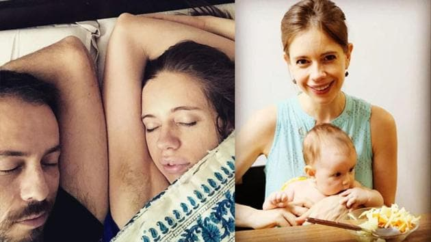 Kalki Koechlin has shared a quirky picture with boyfriend Guy Hershberg.