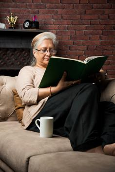 Nothing like a good read to keep the lockdown blues away!(Shutterstock)