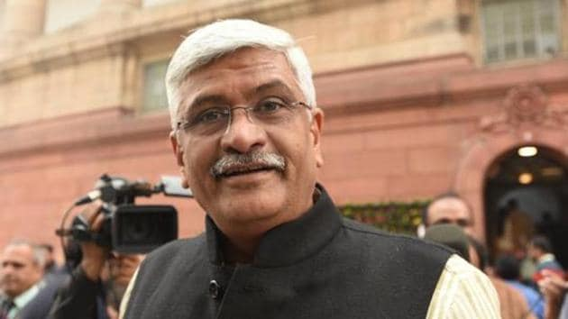 "Union minister Shekhawat and dissident lawmaker Sharma had issued separate statements and denied the charges levelled against them and termed the audiotapes as ""fake"" and blamed chief minister Gehlot for the trump-up charges.(Sonu Mehta/HT file photo)"