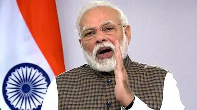 Prime Minister Narendra Modi will lay the foundation stone of the Ram Temple in Ayodhya on August 5, 2020.(ANI PHOTO.)