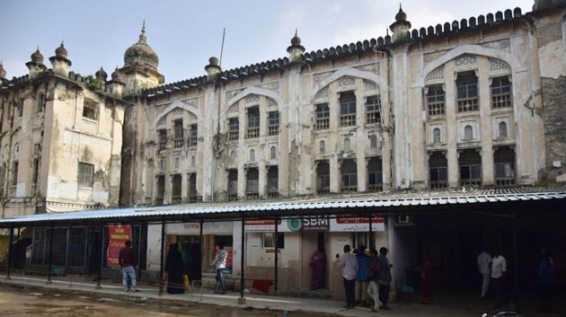 The OGH is one of the oldest and largest hospitals in India constructed during the Nizam's reign.(HT PHOTO.)