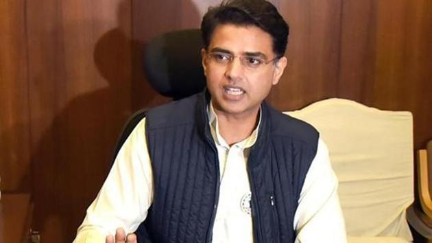 The Rajasthan high court had on Tuesday told the Speaker not to move forward on the disqualification notices against Sachin Pilot and 18 other MLAs till Friday.(HT File Photo)