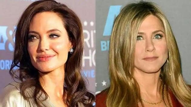 Angelina Jolie and Jennifer Aniston both gave interviews within months of each other in 2007 and 2008.