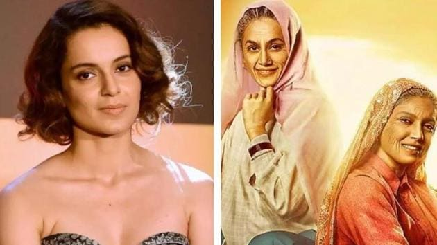 Kangana Ranaut has been feuding with both Anurag Kashyap and Taapsee Pannu.