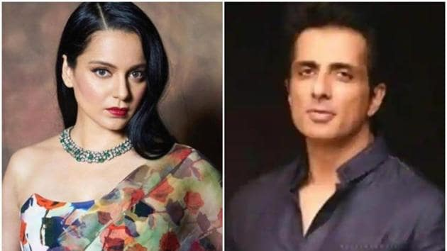 Kangana Ranaut has spoken out against many bigwigs in Bollywood. Sonu Sood continues to help those hit by the pandemic.