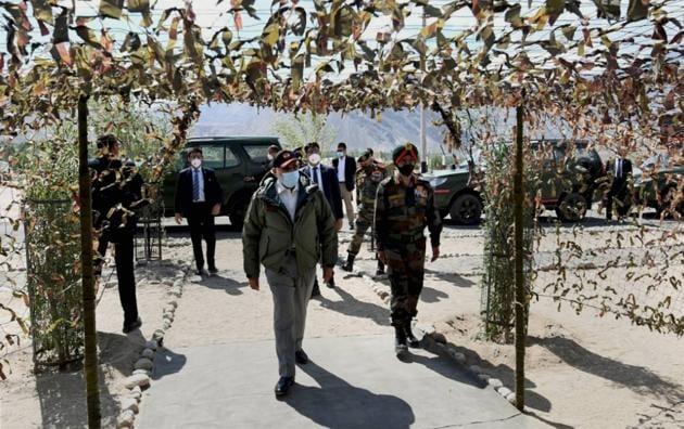Prime Minister Narendra Modi was in favour of a separate Ladakh university.(PTI)