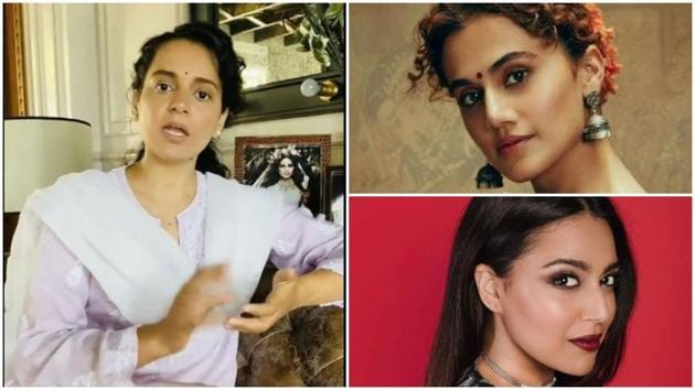 Kangana Ranaut has been in a Twitter war with Taapsee Pannu and Swara Bhasker.