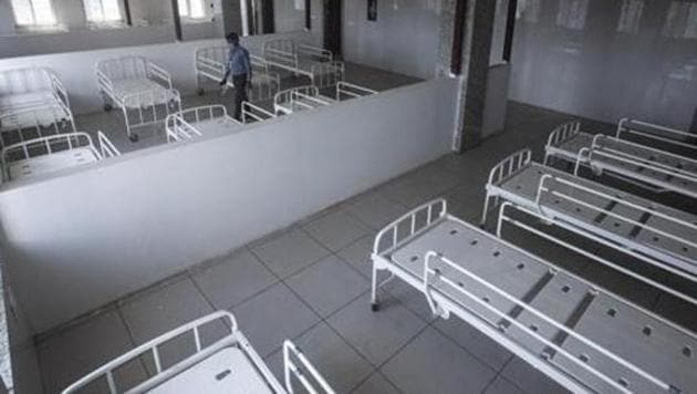 PMRDA plans to establish the hospital within 20 days and has proposed the Balewadi sports complex(Pratham Gokhale/HT Photo)