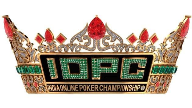 The winner of the 2020 India Online Poker Championship will walk away with this majestic crown!(Spartan Poker)