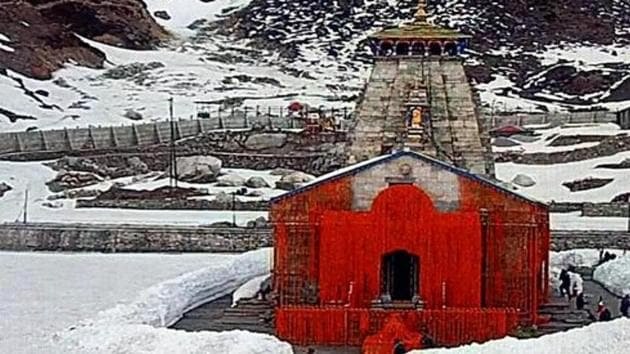 The Char Dham shrines in Uttarakhand are considered to be one of the holiest pilgrimages in Hindu religion. )(ANI Photo)