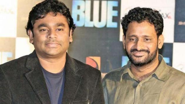 Resul Pookutty with AR Rahman.