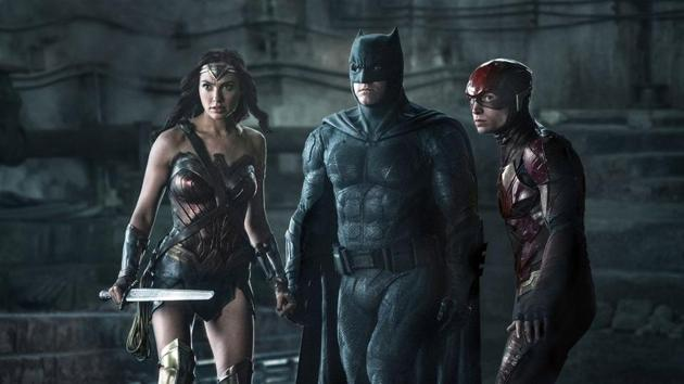 A still from Justice League.
