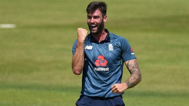 Reece Topley last played for England in 2016.(Getty Images)