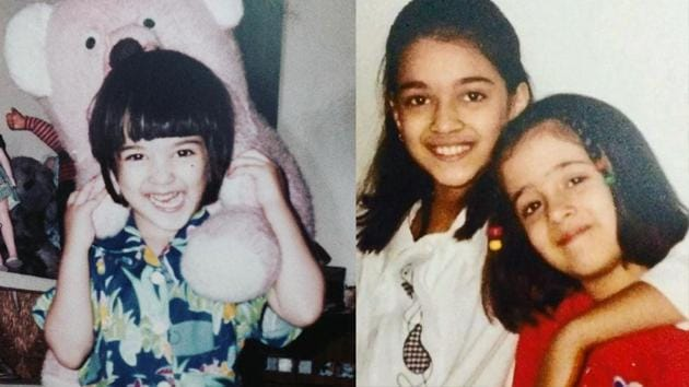 Kriti Sanon is celebrating her 30th birthday on July 27. The actor has delivered quite a few successful films including Bareilly Ki Barfi, Luka Chuppi and Housefull 4. Here are some of her adorable childhood pictures.