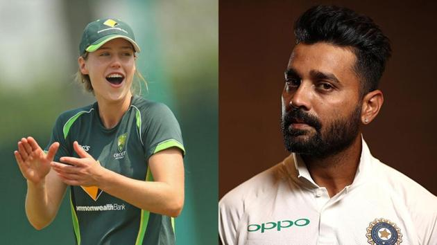 Elysse Perry and Murali Vijay.(Getty Images)