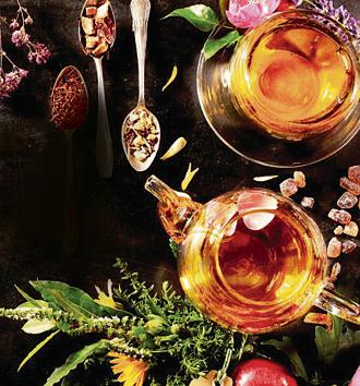 Tea made with herbs and spices is season-perfect.(Photo: Shutterstock)