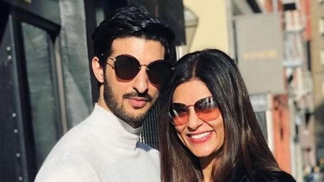 Sushmita Sen and Rohman Shawl often share pictures with each other on social media.