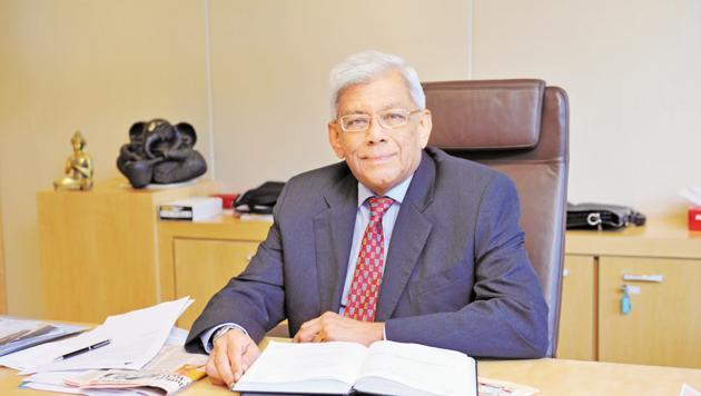 Deepak Parekh Chairman of Housing Development Finance Corporation in Mumbai.(MINT)