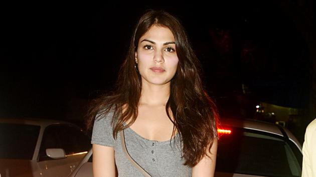 An FIR was launched against Rhea Chakraborty and her family under the various sections of the Indian Penal Code, police said(Yogen Shah)