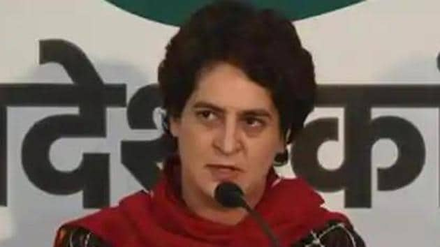 Priyanka Gandhi was allotted the Lodhi Estate bungalow on February 21, 1997, as an SPG protectee.(HT PHOTO.)