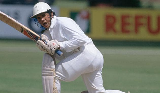 Playing his sixth Test, Sachin Tendulkar missed his century by 12 runs.(Getty Images)