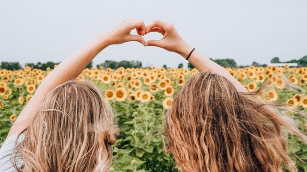 Friendship Day is celebrated around the world where friends usually tie a friendship band on each other's wrists and promise to be BFFs.(Unsplash)