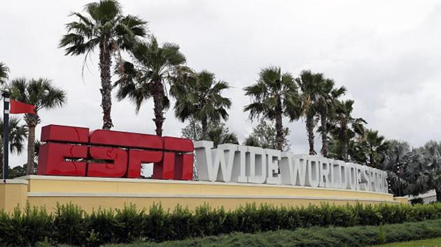Called NBA Campus, the bubble at the ESPN Wide World of Sports Complex at Walt Disney World in Orlando, Florida, has over 1500 persons comprising squads of all 22 teams(AP Photo)