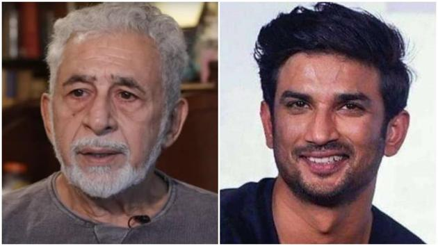 Naseeruddin Shah hopes people will let Sushant Singh Rajput rest in peace.