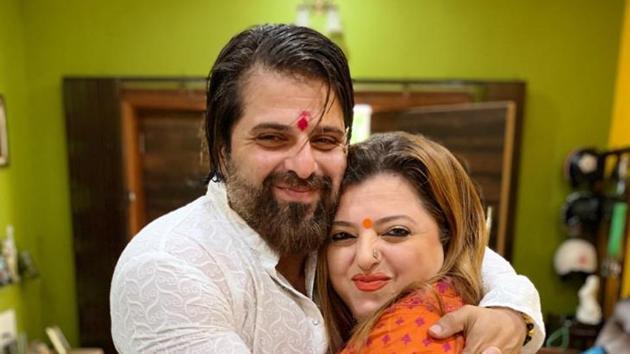 Actors Bakhhtyar Irani and Delnaaz Irani will have a low-key Raksha Bandhan celebration this year.