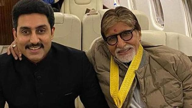 Abhishek Bachchan is still admitted at the Nanavati hospital while Amitabh Bachchan has been discharged .
