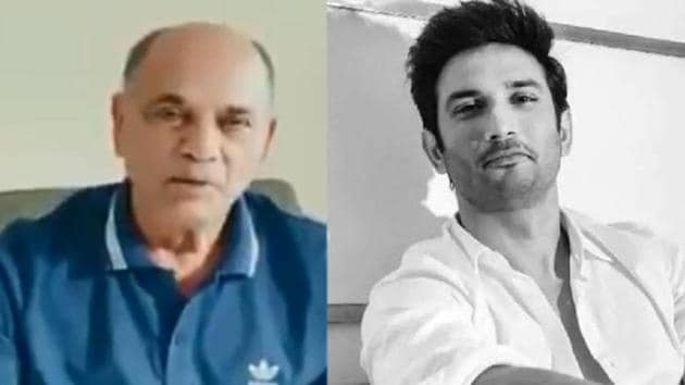 Sushant Singh Rajput's father has released a video statement.