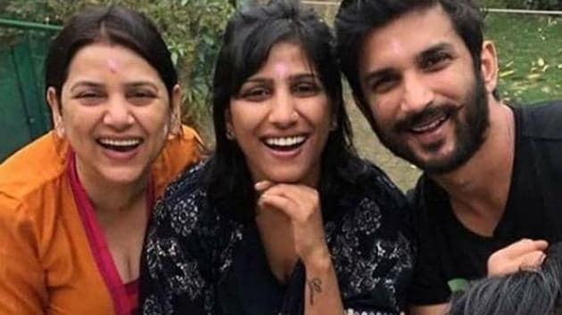 Sushant Singh Rajput's sister has written a special Raksha Bandhan post for him.