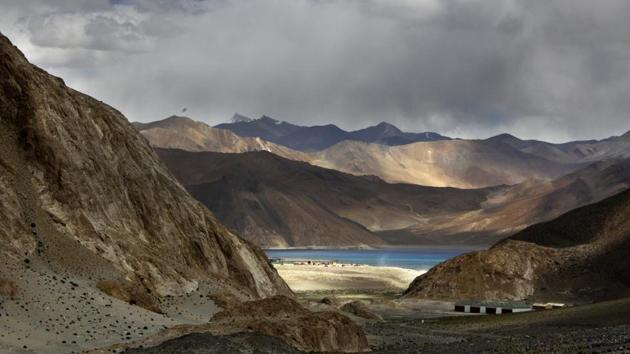 Disengagement at Pangong Tso is the key to both countries managing the situation along the 3,488 km LAC.(AP File Photo)