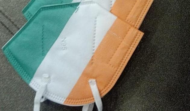 Tricolour masks have become a hit among youngsters ahead of Independence Day.
