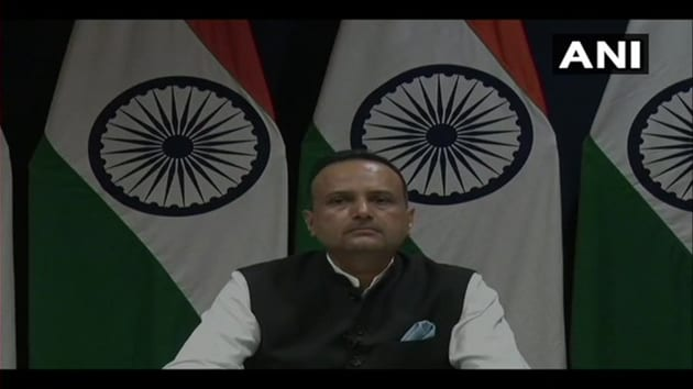 MEA spokesperson Anurag Srivastava said there has been no response from Pakistan on the Kulbhushan jadhav case.(ANI)