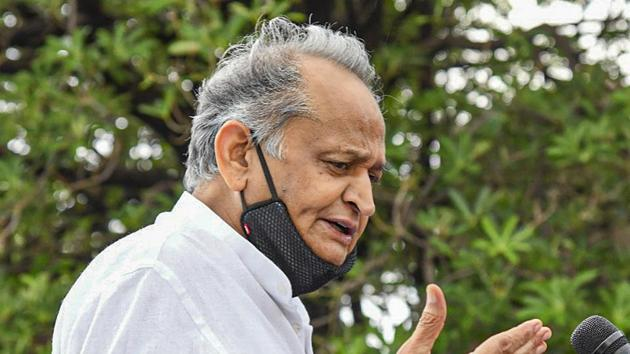 The six BSP MLAs had merged with the Congress party in Rajasthan boosting support to Chief Minister Ashok Gehlot .(PTI)