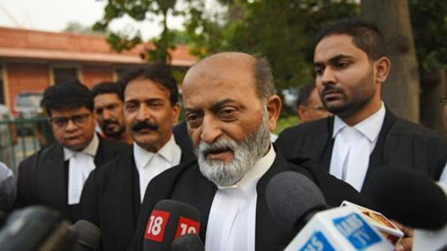 """""""We are quiet because we had said that we would respect the law of the land and go by the court's verdict. The SC verdict came on November 9, but it's also a fact that the Supreme Court had held that Babri mosque was illegally demolished and that it was a shameful act and the same view was repeated on November 9,"""" Jilani said.(Sanchit Khanna/HT file photo)"""