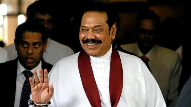 Sri Lanka Prime Minister Mahinda Rajapaksa.(Reuters)